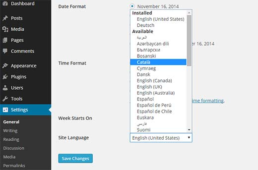 language-selection-settings